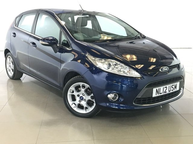 View our 2012 12 FORD FIESTA 1.4 ZETEC 16V 5d AUTO 96 BHP