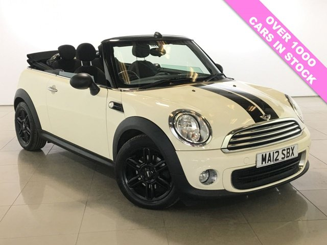 View our 2012 12 MINI CONVERTIBLE 1.6 ONE 2d 98 BHP