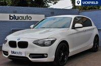 USED 2012 62 BMW 116 1.6i SPORT 5d 135 BHP Low Mileage, Parking Sensors, Cruise Control, Black Alloys, Bluetooth........