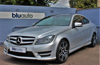 2012 MERCEDES-BENZ C 220 2.1 CDI BLUE EFFICIENCY AMG SPORT PLUS COUPE £12820.00