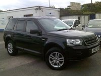 USED 2013 62 LAND ROVER FREELANDER 2.2 TD4 BLACK AND WHITE 5d AUTO 150 BHP