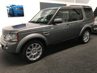 USED 2010 60 LAND ROVER DISCOVERY 3.0 4 TDV6 HSE 5d AUTO 245 BHP FSH, FULL LEATHER, NAV, DAB 7 SEATS, MANY EXTRAS.