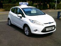 USED 2009 P FORD FIESTA 1.2 ZETEC 3d 81 BHP CADE CARS LTD. Established for over 25 years.