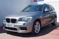 USED 2012 61 BMW X1 2.0 XDRIVE18D M SPORT 5d 141 BHP SERVICE HISTORY