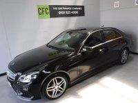 2014 MERCEDES-BENZ E CLASS 2.1 E220 CDI AMG SPORT 4d AUTO 168 BHP £15500.00
