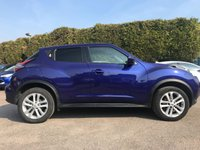 2015 NISSAN JUKE 1.5 DCI ACENTA  5d ONE PRIVATE OWNER FROM NEW  £7500.00