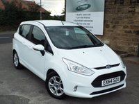 USED 2014 64 FORD B-MAX 1.0 ZETEC 5d 100 BHP FULL Service History Only £30 Road Tax
