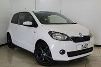 USED 2016 R SKODA CITIGO 1.0 COLOUR EDITION MPI 3DR 59 BHP AIR CONDITIONING + RADIO/CD + AUXILIARY PORT + ELECTRIC WINDOWS + 15 INCH ALLOY WHEELS
