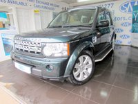 2013 LAND ROVER DISCOVERY 3.0 4 SDV6 HSE 5d AUTO 255 BHP £22000.00