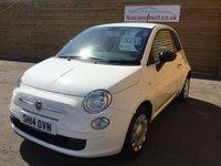 2014 FIAT 500 1.2 POP 3d 69 BHP £4999.00