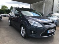 USED 2013 63 FORD GRAND C-MAX 1.0 TITANIUM X ECOBOOST 125 BHP THIS VEHICLE IS AT SITE 2 - TO VIEW CALL US ON 01903 323333