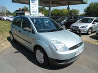 2002 FORD FIESTA 1.3 FINESSE 8V 5d 68 BHP ONE OWNER FROM NEW £1495.00