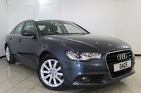 USED 2011 61 AUDI A6 2.0 TDI SE 4DR 175 BHP LEATHER SEATS + SAT NAVIGATION + PARKING SENSOR + BLUETOOTH + CRUISE CONTROL + MULTI FUNCTION WHEEL + CLIMATE CONTROL + 18 INCH ALLOY WHEELS