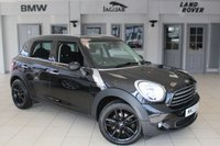 USED 2013 13 MINI COUNTRYMAN 1.6 ONE D 5d 90 BHP FULL MINI SERVICE HISTORY + BLUETOOTH + PEPPER PACK 2 + DAB RADIO + REAR PARKING SENSORS + 16 INCH ALLOYS + AUTOMATIC AIR CONDITIONING