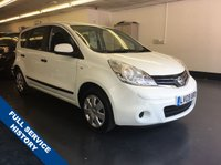 USED 2009 09 NISSAN NOTE 1.4 VISIA 5d 88 BHP 1 LADY OWNER, 20,000 MILES, FULL SERVICE HISTORY