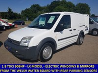 2008 FORD TRANSIT CONNECT 200 LX SWB 90BHP DIRECT FROM THE WELSH WATER BOARD £3295.00