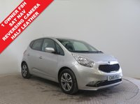 USED 2015 15 KIA VENGA 1.6 3 5d AUTO 123 BHP 1 Owner, Full Kia Service History, Balance of Kia Warranty until August 2022. MOT until July 2019. Sat Nav, Reversing camera, Half Leather, Leather Multi Functional Steering Wheel, Parking Sensors, Alloys,, Air Conditioning, Bluetooth, USB/Aux, 2 keys. Nationwide Delivery Available. Finance Available at 9.9% APR Representative.
