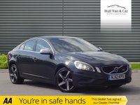 USED 2012 12 VOLVO S60 1.6 DRIVE R-DESIGN S/S 4d 113 BHP BIG MPG, £30 TAX, BLUETOOTH