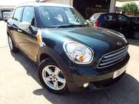 2011 MINI COUNTRYMAN 1.6 COOPER D 5d 112 BHP £5895.00