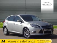 USED 2012 12 FORD FOCUS 1.6 TITANIUM TDCI 115 5d 114 BHP HISTORY, DAB, £20 TAX, BIG MPG