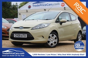2009 FORD FIESTA 1.2 STYLE PLUS 3d 81 BHP £3950.00