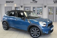 USED 2012 62 MINI COUNTRYMAN 2.0 COOPER SD 5d 141 BHP FULL MINI SERVICE HISTORY + CHILI PACK + BLUETOOTH + XENON HEADLIGHTS + DAB RADIO + REAR PARKING SENSORS + 16 INCH ALLOYS + AUTOMATIC AIR CONDITIONING