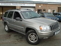 2000 JEEP GRAND CHEROKEE 4.0 LIMITED 5d AUTO 188 BHP £1695.00