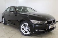 USED 2016 16 BMW 3 SERIES 2.0 330E SPORT 4DR AUTOMATIC 181 BHP FULL BMW SERVICE HISTORY + SAT NAVIGATION + PARKING SENSOR + BLUETOOTH + CRUISE CONTROL + MULTI FUNCTION WHEEL + 17 INCH ALLOY WHEELS