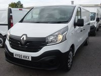 2015 RENAULT TRAFIC 1.6 LL29 BUSINESS LONG WHEELBASE  DCI S/R P/V 1d 115 BHP SAT NAV £SOLD