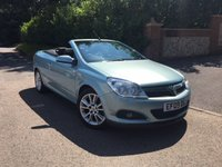 2009 VAUXHALL ASTRA 1.8 TWIN TOP DESIGN 3d 140 BHP PLEASE CALL TO VIEW £3950.00