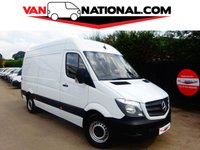 2016 MERCEDES-BENZ SPRINTER 2.1 313 CDI MWB 129 BHP (one owner full service history) £13990.00