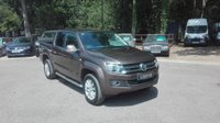 USED 2014 14 VOLKSWAGEN AMAROK 2.0 DC TDI HIGHLINE 4MOTION AUTO 180 BHP Full VW Service History, Demo + One Owner