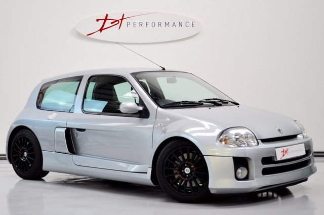 2002 02 RENAULT CLIO 3.0 RENAULTSPORT V6 3d 227 BHP GREAT INVESTMENT