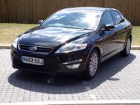 USED 2012 62 FORD MONDEO 1.6 ZETEC BUSINESS EDITION TDCI 5d 114 BHP