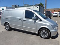 USED 2013 13 MERCEDES-BENZ VITO 113 CDI BLUEEFFICIENCY, 136 BHP [EURO], AIR CON, 1 COMPANY OWNER