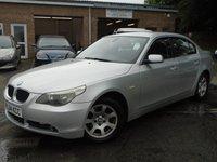 2004 BMW 5 SERIES 2.5 525D SE 4d AUTO 175 BHP £2795.00