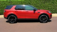 USED 2016 66 LAND ROVER DISCOVERY SPORT 2.0 TD4 HSE Black 4X4 (s/s) 5dr 7 SEATS+PANROOF+REV CAM+BLACK