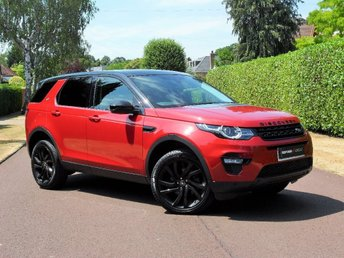 2016 LAND ROVER DISCOVERY SPORT 2.0 TD4 HSE Black 4X4 (s/s) 5dr £31795.00