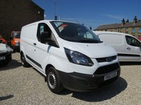 2013 FORD TRANSIT CUSTOM 270 BASE 100PS L1 H1 VAN £8495.00