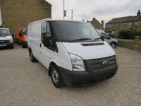 USED 2013 62 FORD TRANSIT 100T 300 2.2TDCi SWB 6 SPEED VAN WITH AIR-CONDITIONING WITH AIR-CON AND ONLY 27,000m!