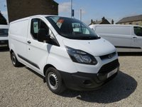 2013 FORD TRANSIT CUSTOM 310 ECONETIC 100PS L1 H1 WORKSHOP VAN WITH SECURITY LOCKS AND STOP START TECHNOLOGY £9650.00