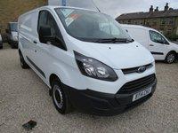 2014 FORD TRANSIT CUSTOM 290 BASE 100PS L2 H1 LWB VAN - RARE MODEL, £9495.00