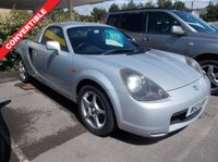 2000 TOYOTA MR2 1.8 ROADSTER HARD TOP 2d 138 BHP £2750.00