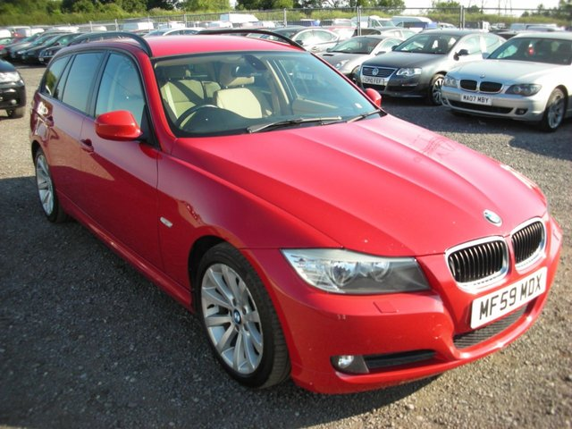 2009 59 BMW 3 SERIES 2.0 320D SE TOURING 5d 175 BHP