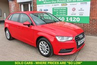 USED 2014 14 AUDI A3 1.6 TDI SE 5d 104 BHP +Serviced +FREE TAX +1 Owner.