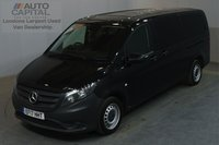 USED 2017 17 MERCEDES-BENZ VITO 2.1 114 BLUETEC TOURER PRO 136 BHP LWB AUTO E6 A/C 9 SEATER MINIBUS ONE OWNER FROM NEW, MANUFACTURER WARRANTY UNTIL 30/05/2020