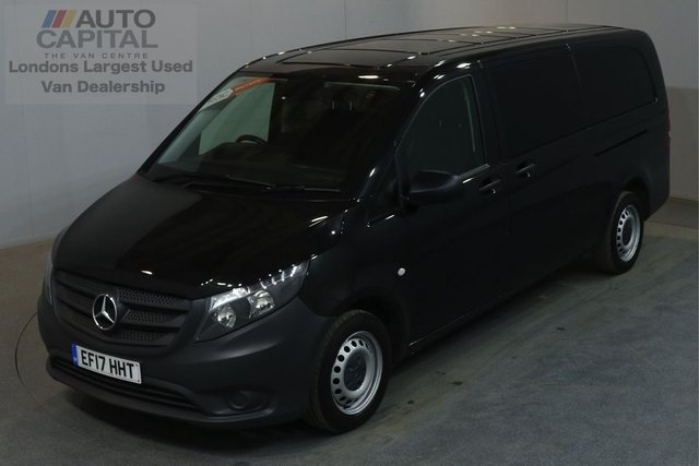 2017 17 MERCEDES-BENZ VITO 2.1 114 BLUETEC TOURER PRO 136 BHP LWB AUTO E6 A/C 9 SEATER MINIBUS ONE OWNER FROM NEW, MANUFACTURER WARRANTY UNTIL 30/05/2020
