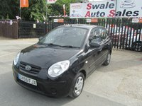 USED 2010 59 KIA PICANTO 1.0 1 5d 61 BHP FINANCE AVAILABLE FROM £27 PER WEEK OVER TWO YEARS - SEE FINANCE LINK