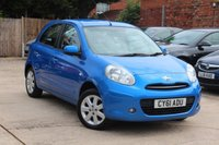 USED 2011 61 NISSAN MICRA 1.2 ACENTA 5d 79 BHP **** £30 ROAD TAX * BLUETOOTH * AIR CON ****
