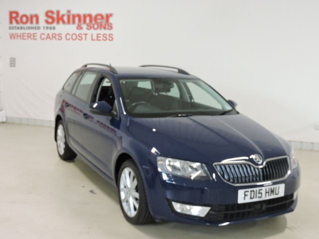 View our 2015 15 SKODA OCTAVIA 1.6 ELEGANCE TDI CR 5d 104 BHP
